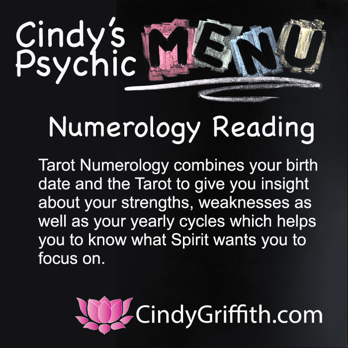 Tarot Numerology Reading with Cindy - CindyGriffith com